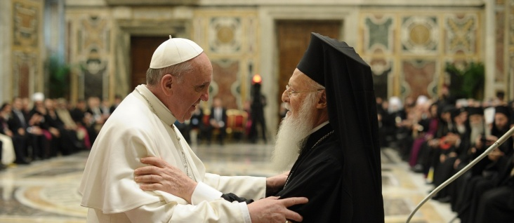 Pope Francis and Ecumenical Patriarch Bartholomew