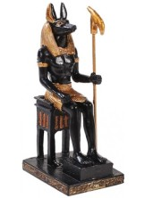 Anubis: Egyptian God of Death, Mummification, Embalming, and the Afterlife