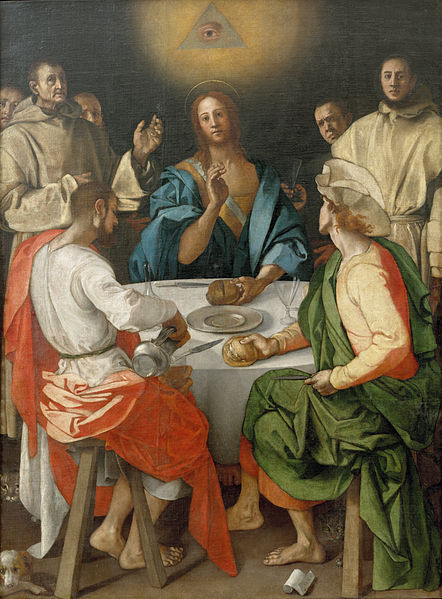 442px-Pontormo_-_Cena_in_Emmaus_-_Google_Art_Project