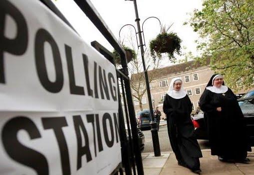 nuns voting