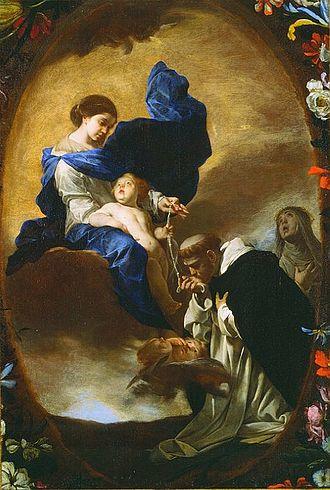 330px-Bernardo_Cavallino_-_La_Visione_di_San_Domenico_(anni_1640)
