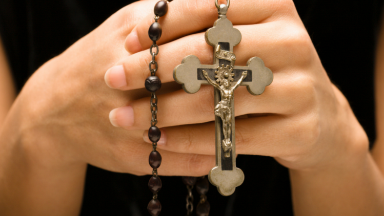 Praying Rosary