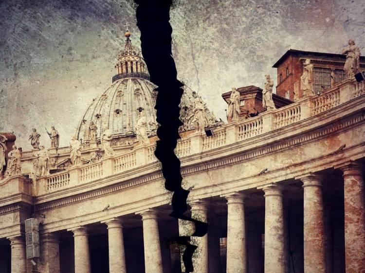 Catholic Church Torn